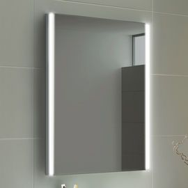 500x700mm Denver Led Mirror Battery Operated Light Up Bathroom