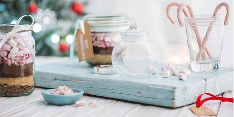 Diy Hot Chocolate Gift Set Hot Chocolate Gifts Homemade