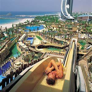 The Wild Wadi Water Park, Dubai. dubai has been on my travel list forever!