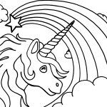 30 Desenhos De Unicornio Para Colorir Pintar E Imprimir Com