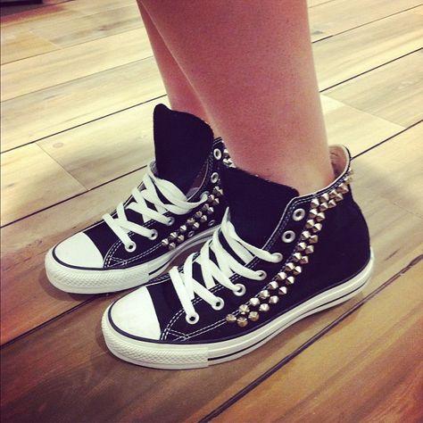 studded converse (mit Bildern) | Schuhe, Just in case