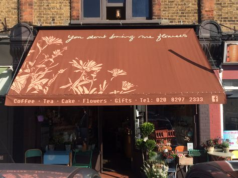 Traditional Victorian Awning Retail Display Awning Commercial Property