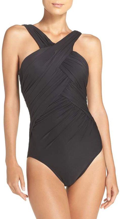 e9c7cc82b427 Miraclesuit R) Crisscross One-Piece Swimsuit