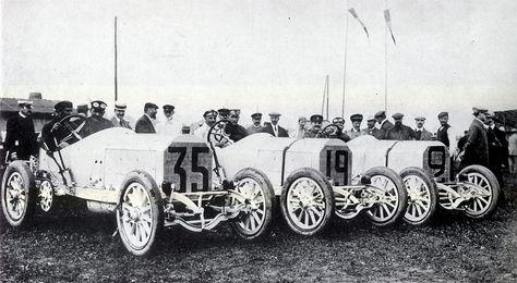 1908 Mercedes French Grand Prix