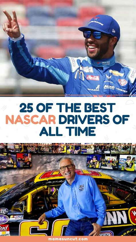 From Jeff Gordon to Richard Petty to Dale Earnhardt, we've got you covered for this list of the 25 best NASCAR drivers of all time.