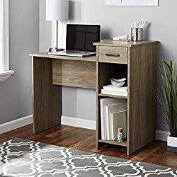 Toys Child Mainstays Student Desk White Desk Only Oak Rustic Computer Desk Home Office Bedroom Desk Furniture