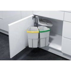 Vauth Sagel Envi Space Pro Waste Recycling Pullout System With 2