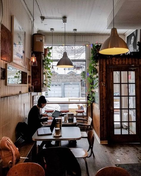 Join the largest community of coffee lovers in Canada Cozy Coffee Shop, Small Coffee Shop, Coffee Shop New York, Hipster Coffee Shop, Cofee Shop, Cafe Shop Design, Coffee Shop Interior Design, Coffee Shop Interiors, Small Cafe Design