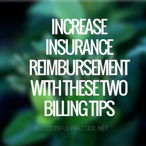 Increase Insurance Reimbursement Billing Tips Quotes Speech