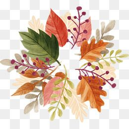 Watercolor Autumn Leaf Vector Png Leaf Autumn Leaves Png
