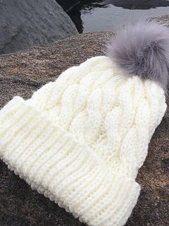 8d8c63f98 Everest Peak pattern by Ember Knitting Design | Hats and Headbands ...