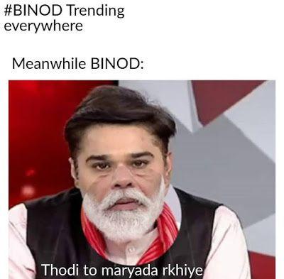 Pin On Funny Binod Memes Images In Hindi