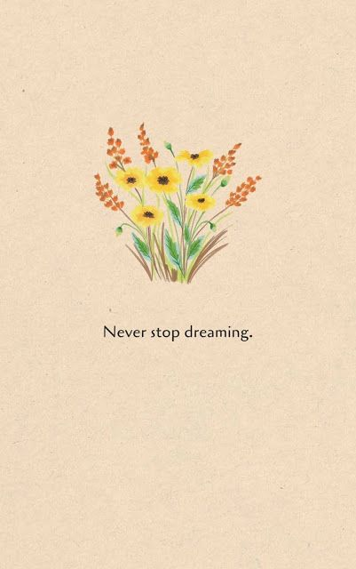 Inspirational Motivational Quotes Cards 7 17 Never Stop Dreaming