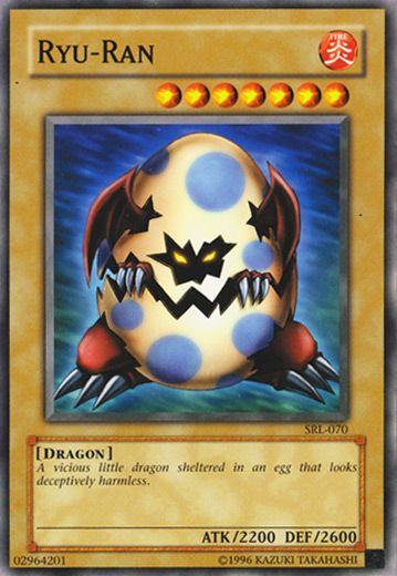 Ryu Ran Yugioh Yugioh Dragons Yugioh Cards