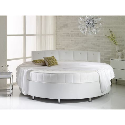 Verve Round Bed Available In A Range Of Colours Beds