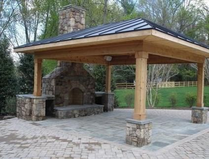Super Backyard Fireplace Projects 53 Ideas Backyard Backyard Patio Outdoor Fireplace