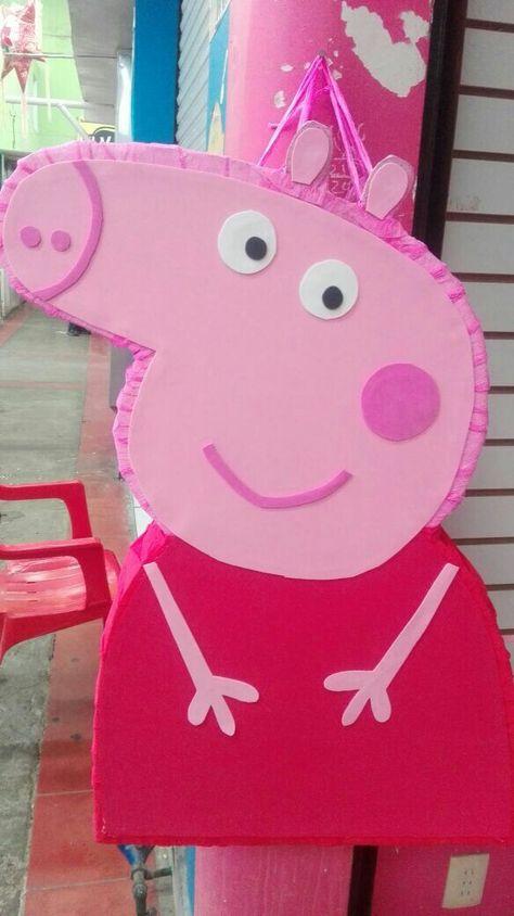 "Piñata Peppa Pig Del ""Almacen de Mary"""