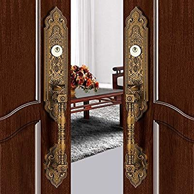 K6847 Luxurious Mortise Lock Entry Entrance Front Door Handle