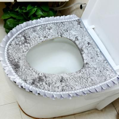 Excellent Royal Velvet Lace Fancy Toilet Seat Cover Products Lace Alphanode Cool Chair Designs And Ideas Alphanodeonline