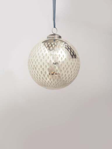 Boule de noel   argentée (met afbeeldingen)