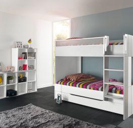 Lit Compact Haut 90x200 Lits Compacts Lits Gain De Place Meubles Gautier Chambre Enfant Meubles Gautier Idee Deco Chambre Garcon