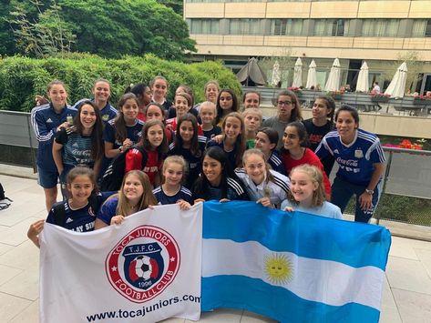 #TOCATour #TOCAmundial 🇫🇷 France 2019 Visitando a la #SeleccionArgentina  #VamosArgentina #VamosLasPibas   🔵🔴 #WeAreToca #TOCA #tocajuniors #PLAYsimple #soccer #Futbol #Football #youthsoccer #Potomac #womens #troupers #WorldCup #womensworldcup #France2019 #DareToShine #FIFAWWC #EstefaniaBanini