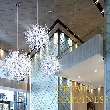 Chandeliers Pendant Lights Imitated Crystal Led Globe Living