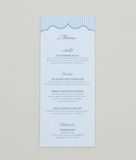 Menu Template u2013 Matelasse Pattern Menu templates, Wedding sets - event menu template