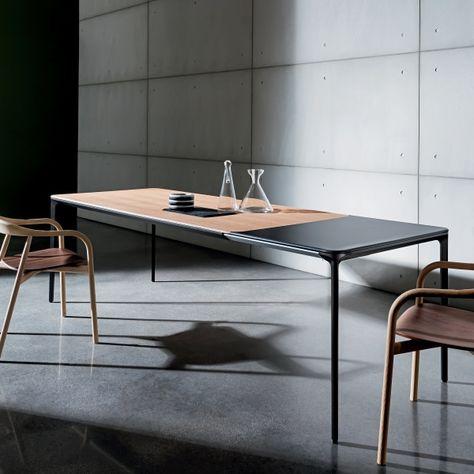 Table Design Extensible En Bois Slim Sovet Table Design Extensible Table Salle A Manger Et Table Basse