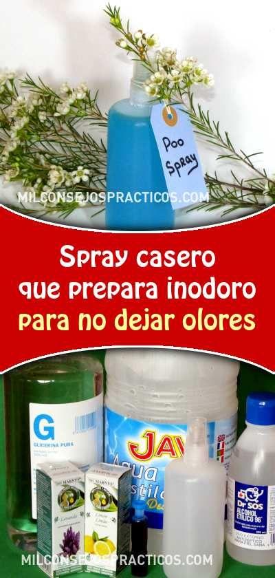 Spray Casero Que Prepara Inodoro Para No Dejar Olores Trucos De