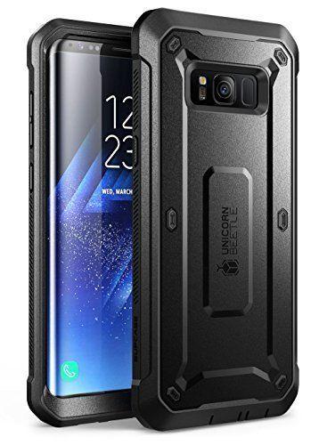 Supcase Samsung Galaxy S8 Hlle Unicorn Beetle Pro Outdoor Case Handyhlle Schlagfest Schutzhlle Cover Mit Grtelclip Ohne Displayschutz Schwarz Galaxis Cover Samsung