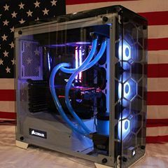 English Great Water Cooling Even With Soft Tubing Looks