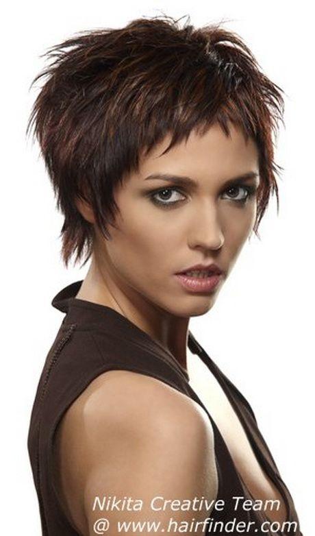 Fetzige Kurzhaarfrisuren Kurzhaarfrisuren Haarschnitt Kurz Kurzhaarschnitte
