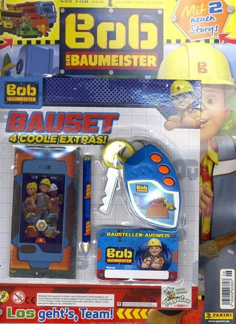 Bob Der Baumeister Ist Die Deutschsprachige Zeitschrift Zur