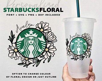 Starbucks Cup Etsy Ca Starbucks Cups Custom Starbucks Cup Starbucks Design