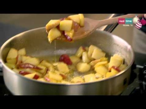 A tavola con Ramsay # 191: French toast alla cannella con mele stufate - YouTube