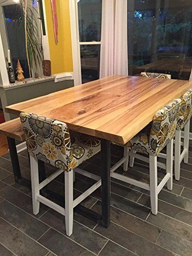 Handcrafted Live Edge Ash Dining Tables Ash Dining Tables