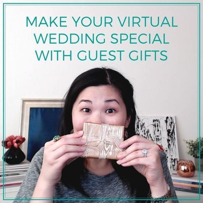 So you're considering a virtual wedding or a wedding with a virtual component.   But, how do you make it special?  In this video, Jamie Chang, wedding planner at Mango Muse Events, creator of Passport to Joy, and founder of Let's I Do this!, continues her virtual wedding series and talks about another way to make your virtual wedding special... with guest gifts! #virtualwedding #virtualweddings #weddingfavor #weddingfavors
