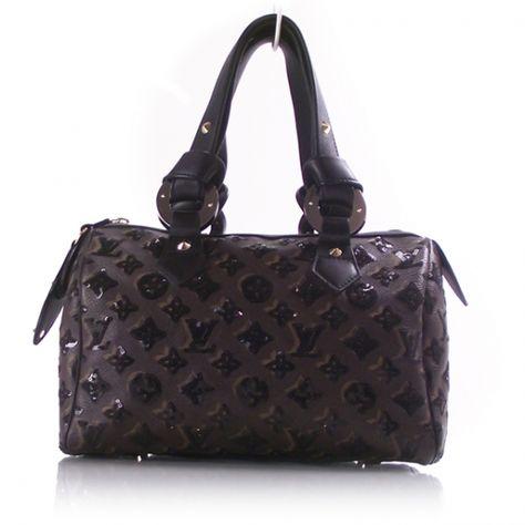 0779967181ac Louis Vuitton Monogram Eclipse Speedy 28 in Noir sequins.