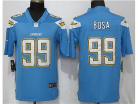 timeless design d751c 6175f Los Angeles Chargers #99 Joey Bosa Powder Blue Vapor ...