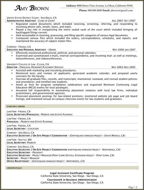 Litigation Paralegal Resume Cover Letter -    wwwresumecareer - corporate paralegal resume