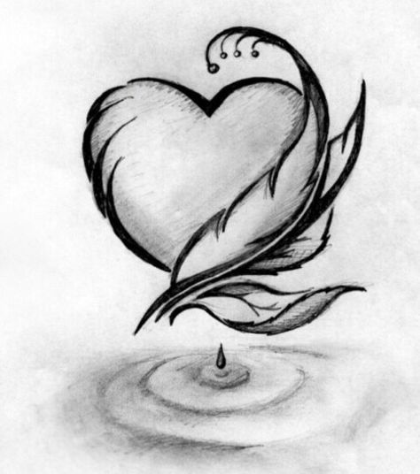 53 Ideas For Drawing Easy Love Cute Cool Pencil Drawings