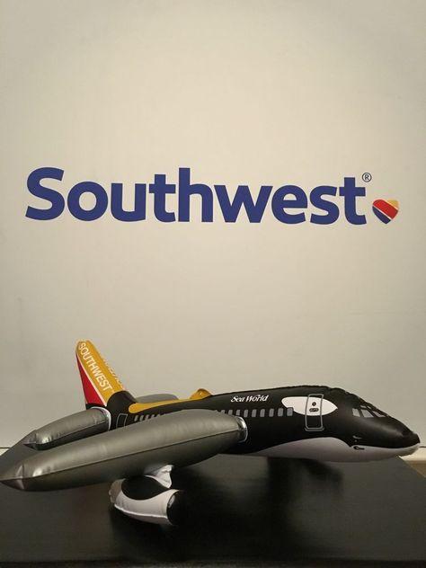Southwest Airlines SWA Colors luggage baggage bag tag Herb Kelleher