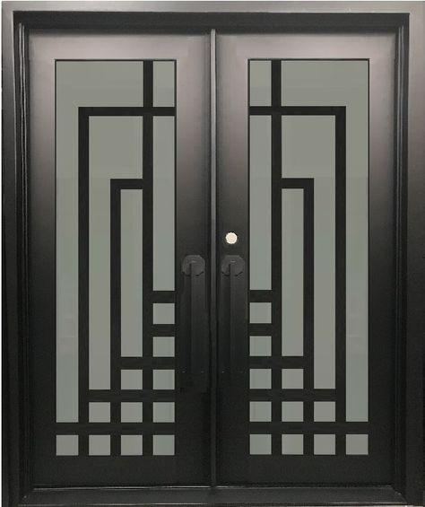 96 Ideas De Porton Hierro Y Madera Porton Hierro Y Madera Puertas De Garage Puertas De Metal