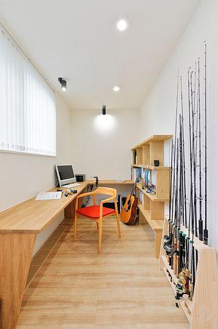 書斎 Work Room 趣味の部屋 素材の表情を楽しめる家 住まいの実例集