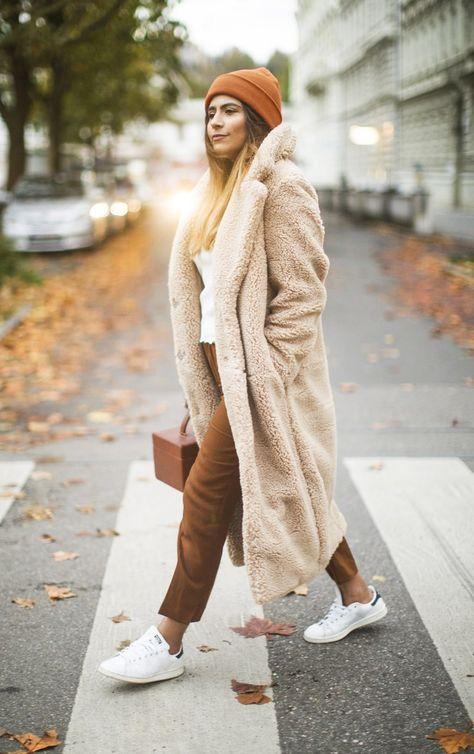Cozy Teddy Coat Outfit Ideas - fashion-landscape,com