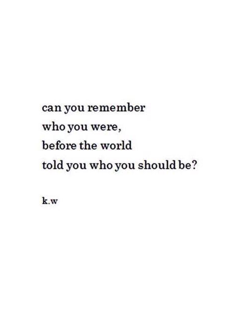 || ¿Puedes recordar quién eras, antes de que el mundo te dijo quién deberías ser? | Traducción ES: @sukigamer88 ||