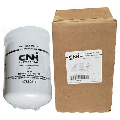 New Holland Hydraulic Oil Filter Part 47862588 Ebay New
