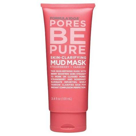 Formula 10.0.6 Pores Be Pure Mud Mask - 3.4oz : Target #MatchaGreenTeaMask