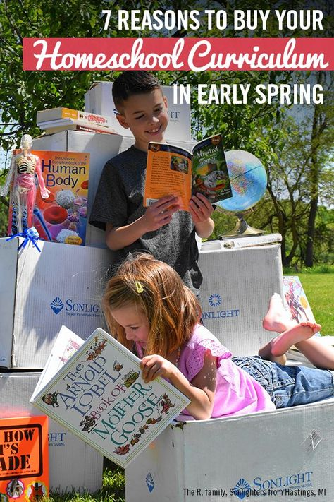 7 Reasons to Buy Your Homeschool Curriculum in Early Spring | Sonlight Homeschooling Blog